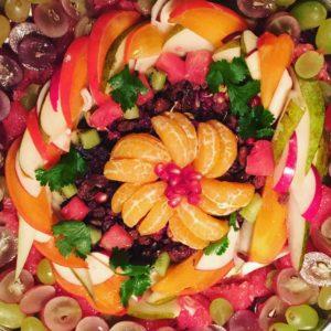 Thistame elu! mandala fruit fruitmandala ceremony sacret fruits celebratelife