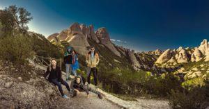 The conquerors spain barcelona montserrat mountain trip travel hiking