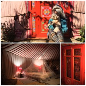 Woke up in a Mongolian yurt today and thought wehellip