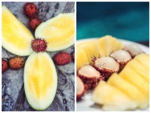 How about those colors for a breakfast? yellowwatermelon rambutan balihellip